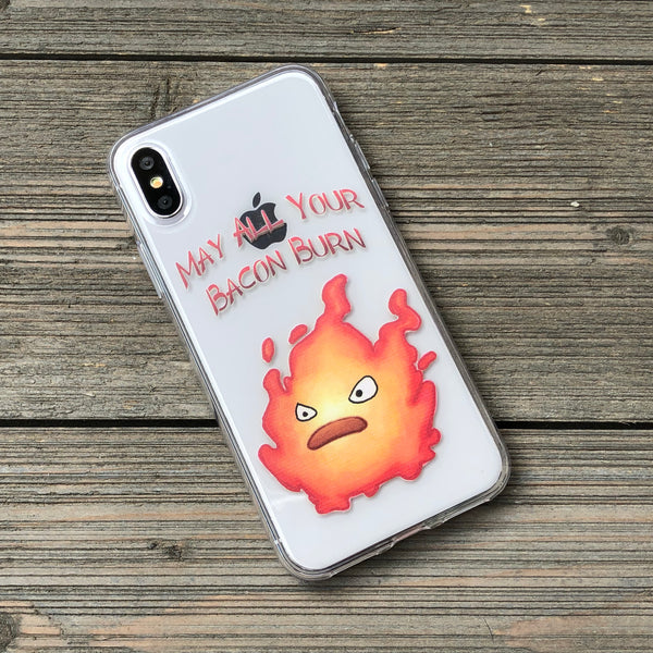 May All Your Bacon Burn iPhone Case