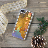 Floating Lanterns Gold Glitter iPhone Case