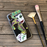 jester mask iphone case