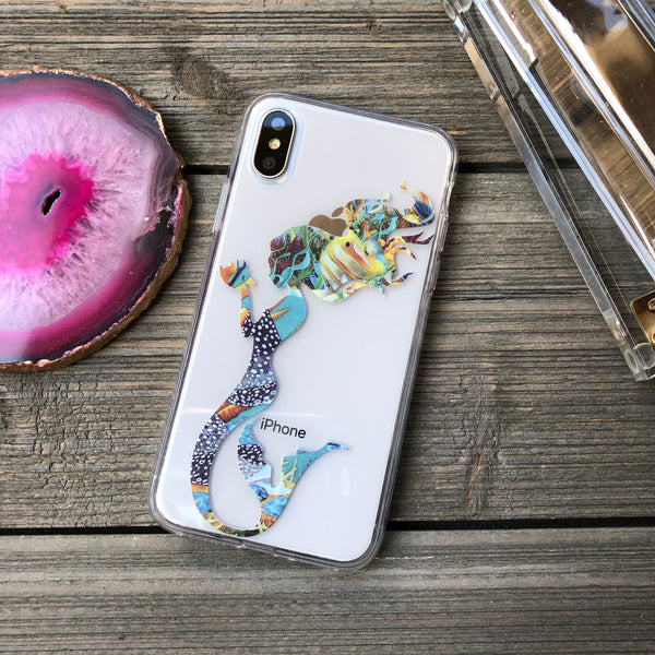 Mermaid Under the Sea iPhone Case