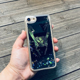 The Trickster Black Glitter iPhone Case