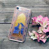 Arabian nights gold glitter iphone 7 case