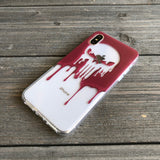 punisher vengence skull iphone case