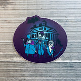 Hitchhiking Ghouls Vinyl Sticker