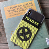 Trainee Sports Jersey iPhone Case