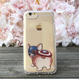 Captain Corgi iPhone Case