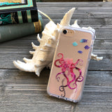 Octopus and Fish iPhone Case