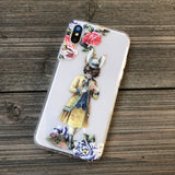 Victorian March Hare iPhone Case