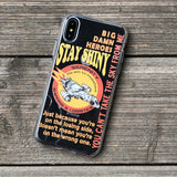 Stay shiny aim to misbehave firefly quotes iphone case