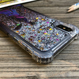 Sorceress Ombre Glitter iPhone Case