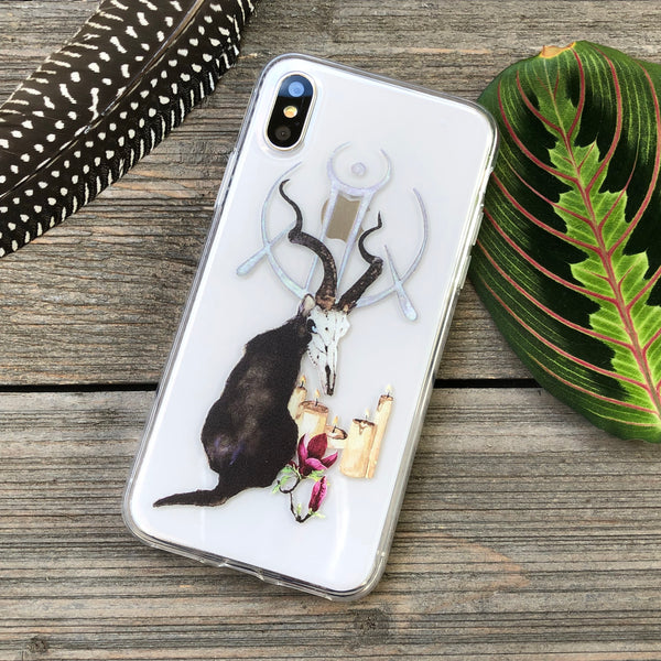 Black Cats and Magic iPhone Case