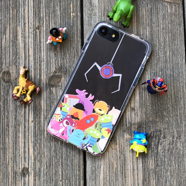 Retro Claw Machine iPhone Case
