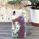 poison ivy mask iphone case