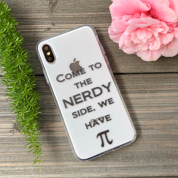 iPhone Nerdy We Have Pi (black)