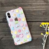 marsmallow charms pattern phone case