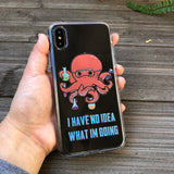 octopus scientist phone case