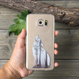 The Wolf and Red Riding Hood Samsung Galaxy Case