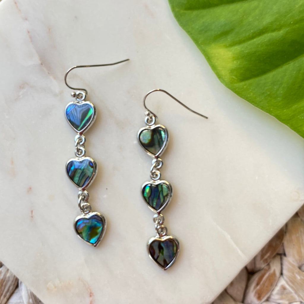 Hearts Dangle Earrings