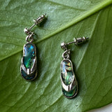 Dangle Sandal Abalone Earrings