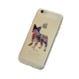 iPhone Geometric French Bulldog Case