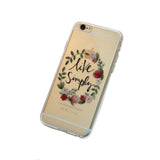 iPhone Live Simply Case