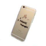 iPhone Mischief Managed Case (black)