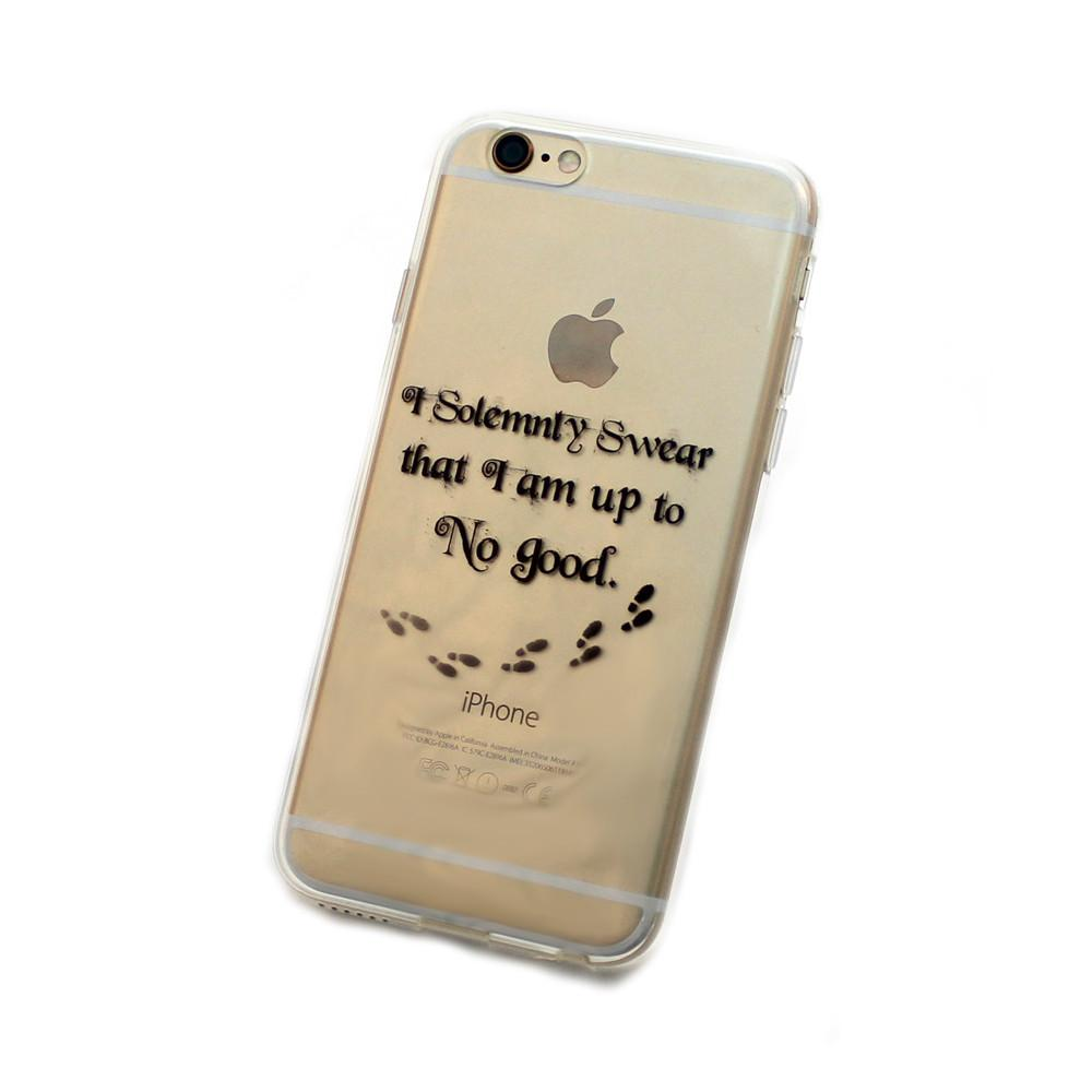 iPhone Up to No Good Case (black)