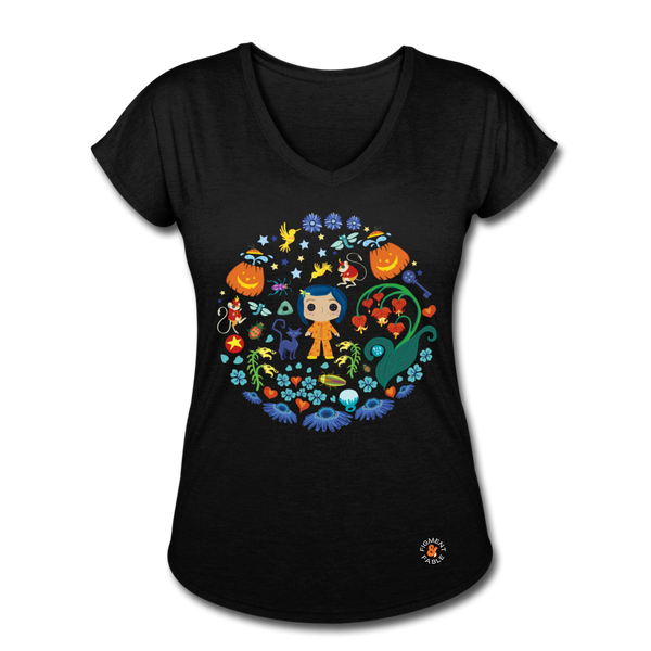 The Other Garden V-Neck T-Shirt - black