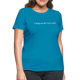 Custom Shirt for Katie - turquoise