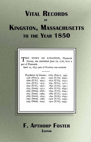 Vital Records of Kingston Massachusetts