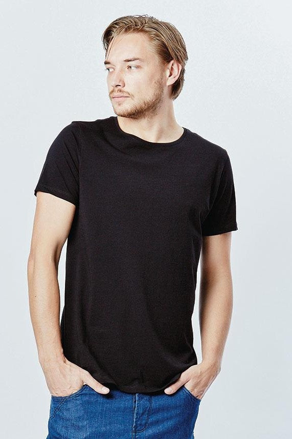 Casa Amuk MENS BASIC CREW NECK TEE BLACK