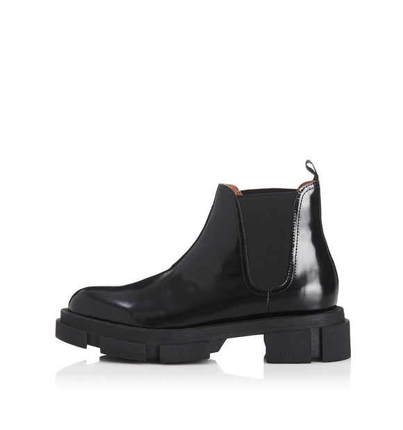 Alias Mae WOMENS ZIMI LEATHER BOOTS - BLACK BOX
