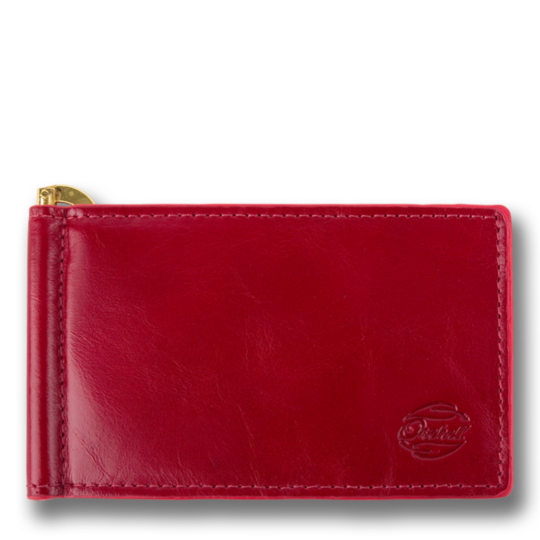 Orchill CAPTAIN CLIP MENS  LEATHER WALLET OXBLOOD - Elwood 101