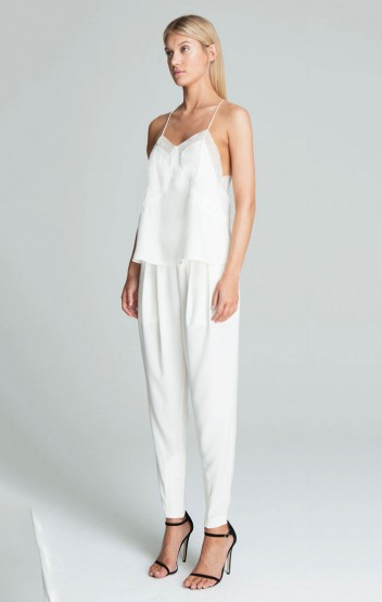 Bless'ed Are the Meek BEACON CAMI IVORY...Last One Available - Elwood 101