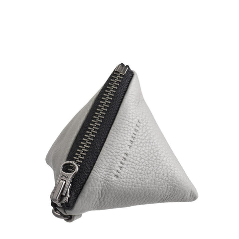 THIS COULD BE COIN PURSE LIGHT GREY