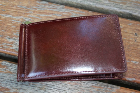 PORTSIDE WINDOW WALLET RICH MAHOGANY