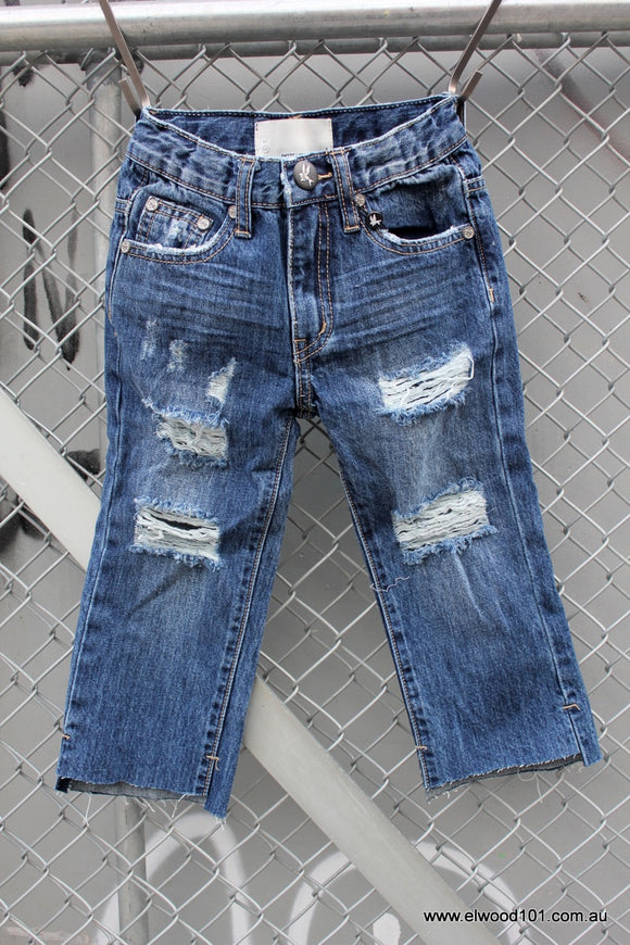 ONETEASPOON KIDS HOOLIGANS RELAXED STRAIGHT LEG JEAN