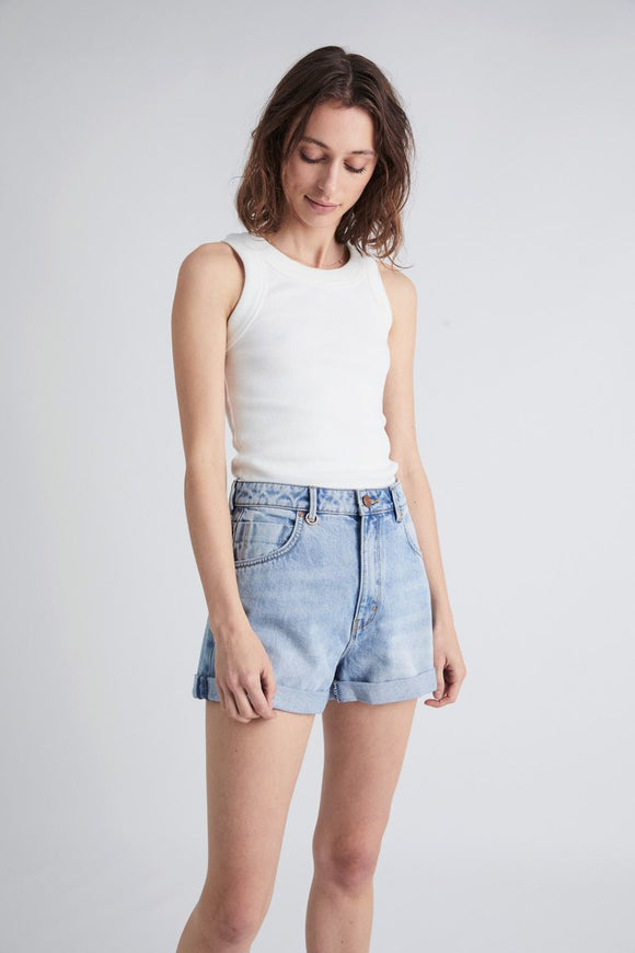 Neuw WOMENS LOLA DENIM SHORTS LEGACY
