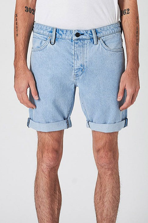 Neuw MENS RAY TAPERED DENIM SHORTS - ZERO BREAKER BLUE - Elwood 101