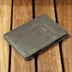 MAGIC WALLET GREY GREEN