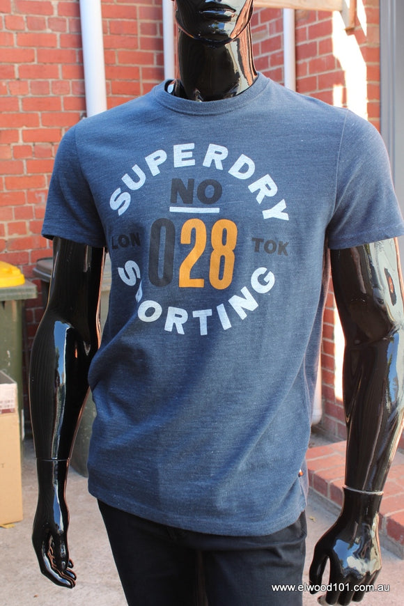 Superdry MENS 028 SPORTING TEE - Elwood 101