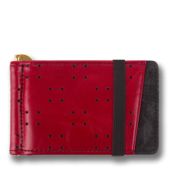 Orchill  ARMADA MENS LEATHER WALLET OXBLOOD