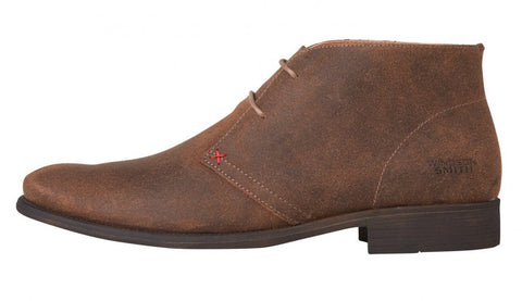HARVARD TAUPE SUEDE BOOT by Windsor Smith