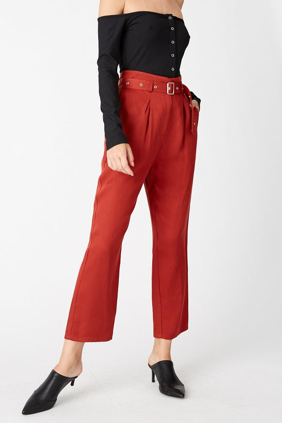 Third Form WOMENS SKY HIGH TROUSER RUST...Last Ones Available