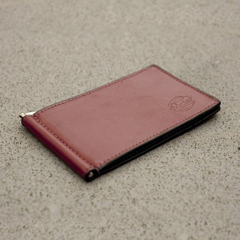 PORTSIDE CLIP WALLET DRY RED