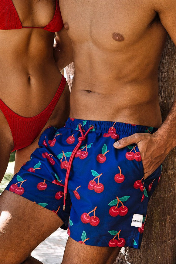 Skwosh CHERRY PICKER SWIM SHORTS