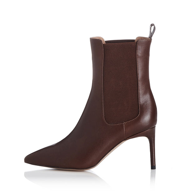 Alias MAe WOMENS COHEN LETHER BOOT - CHOCOLATE LEATHER