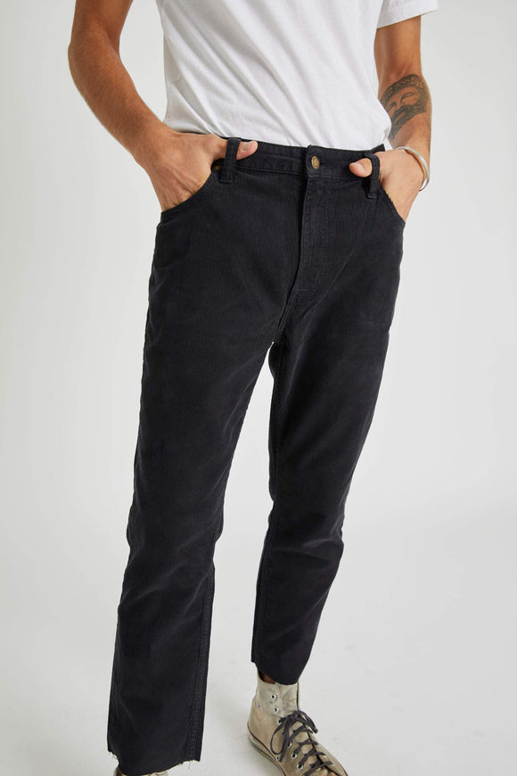 Rollas MENS RELAXO CHOP CORD PANTS - ROLLAS BLACK CORD - Elwood 101