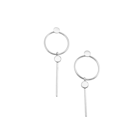 MIRANDA EARRINGS SILVER