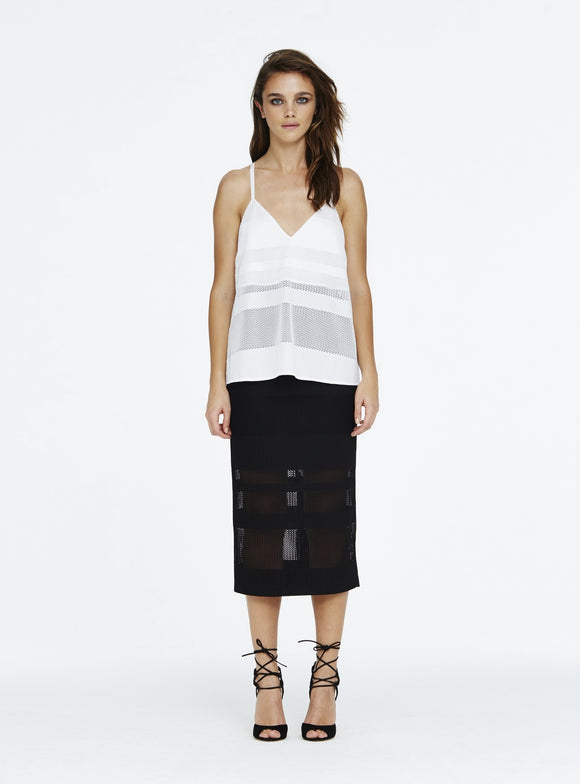 Alice McCall MORE THAN A WOMAN CAMI WHITE - Elwood 101